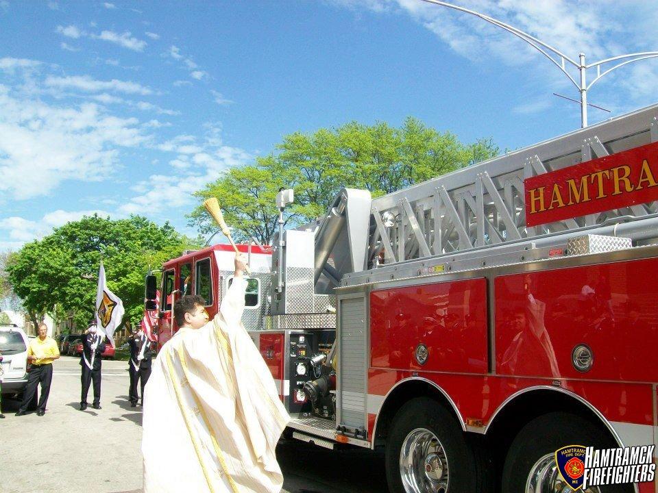 St. Florian March & Mass 2012