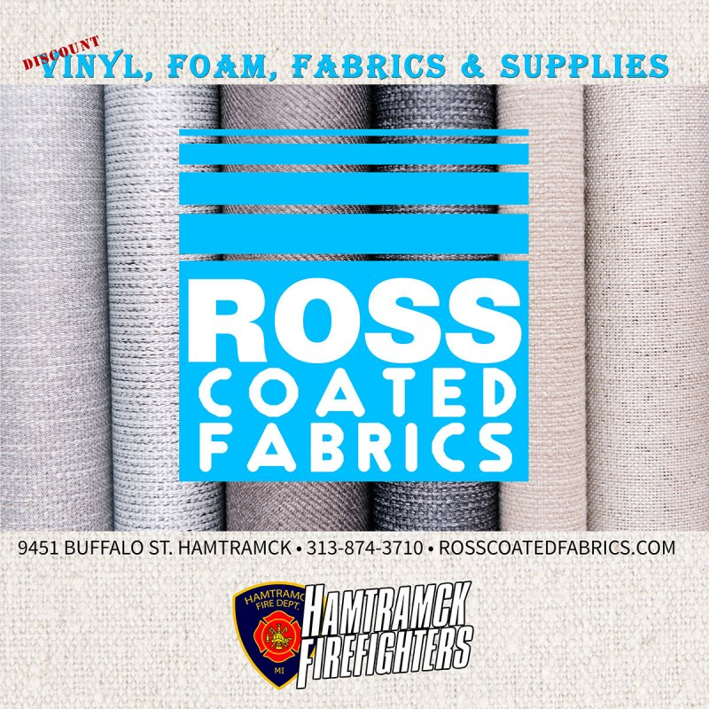 Haunted Fowling 2018 sponsor ross coated fabric