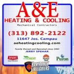 Haunted Fowling 2018 sponsor a&e heating & cooling