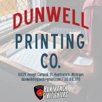 Haunted Fowling 2018 sponsor dunwell printing