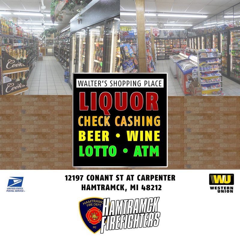 Haunted Fowling 2018 sponsor walters shopping place