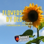 Haunted Fowling 2018 sponsor flowers by deb