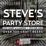 Haunted Fowling 2018 sponsor steves party store