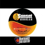 Haunted Fowling 2018 sponsor sunset hookah