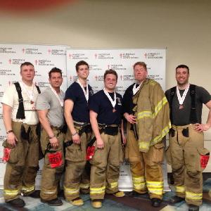 The 2015 Hamtramck Firefighters Stair Climb Team